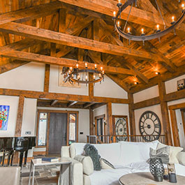Moreau Log Homes - Timber Framing Company